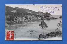 Carte postale ancienne ESTEREL - Corniche d'Or - Pointe de Notre Dame du Troyes