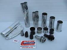 Custom Craft Racing Headers Exhaust / Mufflers Parts Harley V-Rod Drag Bike