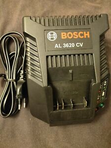 Bosch Genuine AL 3620 CV 36V  Li-ion Battery Charger 240V EU plug