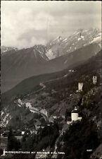 Zirler Bergstrasse Tirol Österreich s/w AK 1959 gelaufen Panorama mit Ratshaus