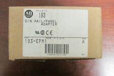ALLEN BRADLEY Din Rail Panel Mount Adapter 193 EPM1