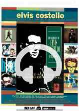 ☆ RARE ELVIS COSTELLO THE VERY BEST OF  MC LP CD   POSTER ADVERT A4 ORIGINAL ☆