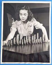 *Original* BOMBER FIGHTER PLANE PLASTIC PULLEYS 1944 News Photo WORLD WAR II