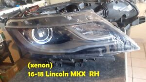 2016-18 Lincoln MKX Right RH Passenger Xenon HID Headlight OEM