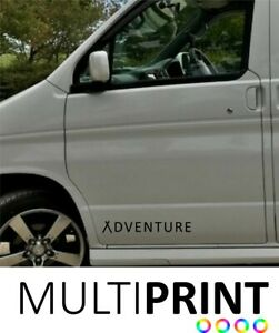 Mazda Bongo Camper Van Adventure Sticker Vinyl Motor Home Van Graphic Decal MAZ3