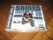Chicano Rap CD SAINTS - Sound Check - SHAGZ - West Coast
