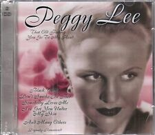 Peggy Lee - That Old Feeling/You Go To My Head - 2 CD Set - Two Complete Albums