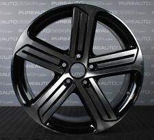 "Genuine 18"" VW Golf R GTI Cadiz Alloy Wheel Black & Diamond Turned SINGLE"