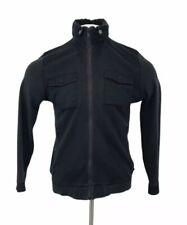 Ted Baker Zip Up Hoodie Jacket Blue Cotton Medium Mens (3)