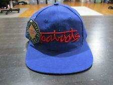 NEW VINTAGE The Game New England Patriots Snap Back Hat Cap Blue Football 90s