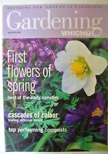 Gardening Which? Magazine. January/February, 1999. First flowers of spring.
