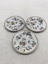 Wedgwood Georgetown Collection Devon Rose Bread Plates Set Of 3