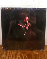B.J. thomas LP Everybody loves a rain song MCA unplayed RARE SEALED 1st press
