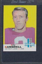 1969 Topps #101 Billy Gambrell Lions EX/MT *876