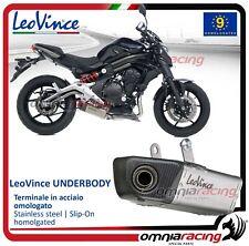 Leovince UNDERBODY Pot D'Echappement acier Kawasaki ER-6N/F/Ninja 650 R 06>2011