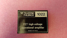 TELEDYNE PHILBRICK 1022 FET High Voltage Operational Amplifier NOS