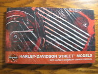 2015 Harley-Davidson Street XG500 XG750 Owner's Owners Manual KIT NEW in Wrap