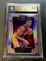 D'ANGELO RUSSELL 2015 PANINI SELECT #62 PINK REFRACTOR ROOKIE RC /20 BGS 9.5