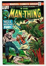 Marvel - THE MAN-THING #2 - Mayerik Art - VF 1974 Vintage Comic