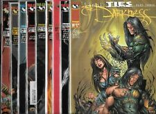 THE DARKNESS LOT OF 9 - #10 #11 #17 #20 #21 #22 #24 #25 #33 (NM-) TOP COW COMICS