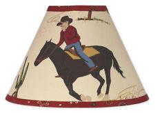 New Sweet Jojo Designs Lamp Shade for Wild Western Horse Cowboy Baby Kid Bedding