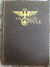 "1916 Armour Institute of Technology AIT Yearbook ""Cycle"" Chicago *Engineering*"