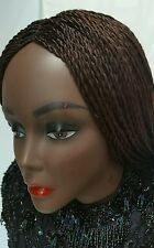 """22"""" Hand Made Senegalese Twists braided wig. Made with  Premium Synthetic Hair."""