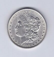 1878 Morgan Silver Dollar 7 Tail Feathers