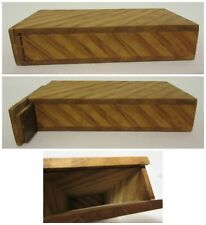 Handmade Wood Cigar Cigarette Box Quality Container Holder Gift Fathers Day