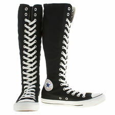 Converse Women's Black & White All Star XX Hi Trainers size UK 5,6