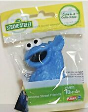 Sesame Street Cookie Monster Plastic Toy Figure Cake Topper 2.5 In. Tall