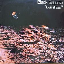 Live at Last [LP] by Black Sabbath (Vinyl, Jul-2004, Earmark)