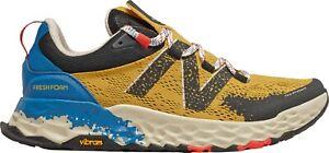 New Balance Fresh Foam Hierro v5 Mens Yellow Blue Trail Running Shoes MTHIERY5