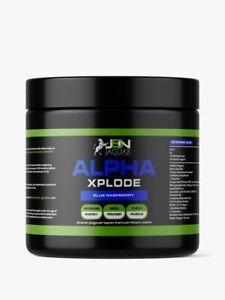 JSN ALPHA XPLODE Pre Workout Muscle Pump Alanine AAKG Citruline Vit B