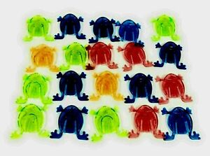 20 X JUMPING FROGS TOY KIDS  FAVORS BIRTHDAY PARTY BAG FILLERS UK