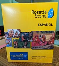 Rosetta Stone Spanish (Latin America) Level 1-5 Set *New & Sealed*