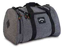 Callaway Clubhouse Collection Small Duffel Bag Charcoal/Black NEW 7916