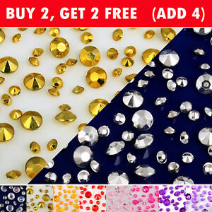 Crystals Diamonds Rhinestones Scatters for Christmas Wedding Party Decorations