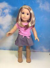 American Girl Doll Just Like You Blonde Brown Eyes (5)