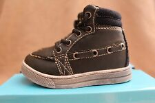Boys Hi Top's Size 4 Kids New with Box Toddler First Shoes Trainers Baby Boots