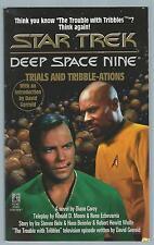 Star Trek Deep Space Nine Trials And Tribble-Ations Diane Carey Pocket 1996 Good