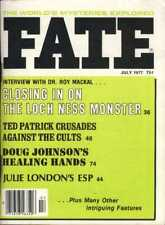 Fate July 1977 Loch Ness Monster-Ufos That Led Us Home-Satan At Work-Esp-Unread