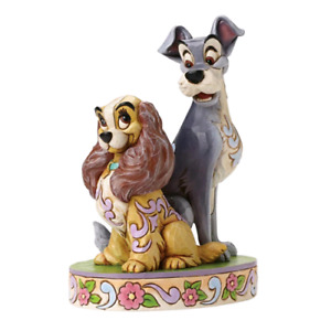"""DISNEY TRADITION STATUINA  """" OPPOSITES ATTRACT """" 4046040"""