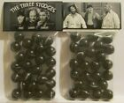 2 Bags Of The Three Stooges Comedy TV Show Promo Marbles