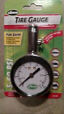 SLIME 20049 Brass Dial Tire Gauge,5 to 60 PSI