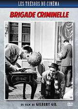 DVD Brigade Criminelle / Gilbert Gil - Michel Bouquet - Jacques Dufilho / 1947