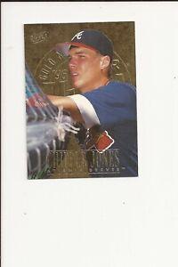 1996 Ultra Gold Chipper Jones #156 Atlanta Braves Hall of Fame