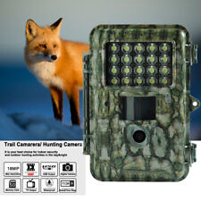 Boly Trail Game Camera 18Mp 1080P White Led Flash Colour Picture Video at Night