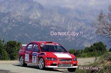 Tommi Makinen Mitsubishi Lancer Evo WRC Tour De Corse Rally 2001 Photograph 3