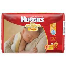 Huggies Little Snugglers Preemie Nappies 30 Pack up to 3Kg FREE POSTAGE